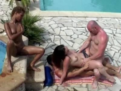 Gruppensex Outdoor